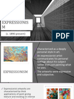 Share 'Expressionism and Cubism.pptx'