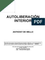De Mello Antony - Autoliberacion Interior