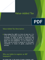 Value Added Report
