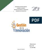 Gestión de Innovación