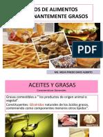 10--Grupo de Alimentos Predominantemente Grasos