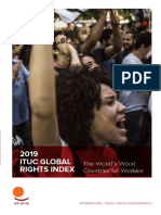 2019 06 Ituc Global Rights Index 2019 Report en 2