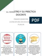 Encuadre Del Curso_El Maestro y Su Práctica Docente