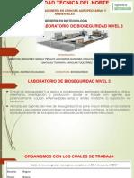 Barreras Primarias Para Laboratorios de Nivel 3