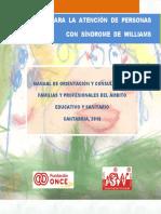 Guia de intervencion en Sindrome de Williams
