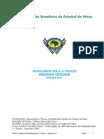 Regras Oficiais Modalidade Bola 12 Toques Edição 2014v1