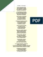 Poema 20 de Julio