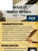 Period of Realist Writers.pptx