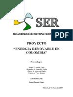 Energías Renovables Colombia