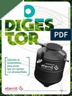 Ficha Tecnica de Biodigestores