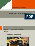 Presentación operar minicargador