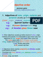 Adjectives order.ppt