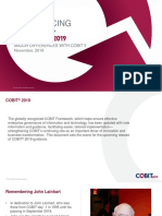 COBIT 2019 Major Differences With COBIT 5