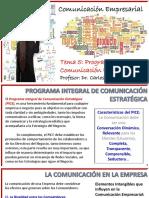 Programa Integral de Comunicacion Estrategica