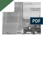 Cavarozzi Autoritarismo y Democracia