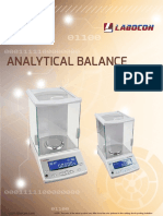 Analytical balance