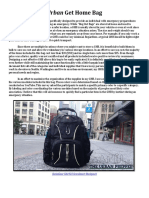 Urban Get Home Bag - Theurbanprepper