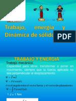 Trabajo Energia y Dinamica de Solidos