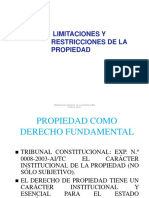 CUBA2CLASE I - LIMITACIONES A LA PROPIEDAD.pptx