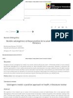 Modelo Salutogénico_ Enfoque Positivo de La Salud