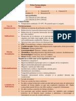 Ficha Farmacológica