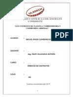 CLAUSULA COMPROMISORIA Y COMPROMISO ARBITRAL.docx