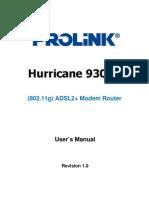 Manual H9300G