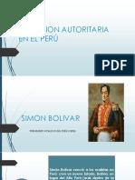 Tradicion Autoritaria en El Perú