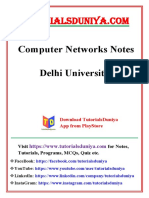 Computer Networks Notes - TutorialsDuniya.com