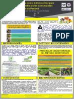 Agricultura Orgánica como método eficaz para el desarrollo sostenible de las comunidades rurales de Panamá
