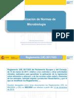 Actualización de Normas de Microbiología