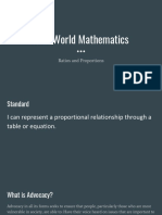 real world mathematics-ratios and proportions day 2   3  2