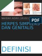 herpes simpleks dan genitals
