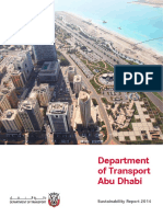 Department of Transport Abudhabi Sustainablility report 2014