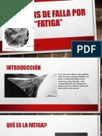 Análisis de Falla Por Fatiga
