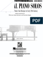 John Thompsons - Classical Piano Solos - Second Grade