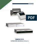 Xweb Evo v 5 2 1 Operation En