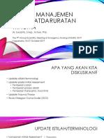 Update Manajemen Kegawatdaruratan Trauma Suryanto