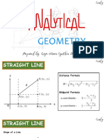 Analytic Geometry