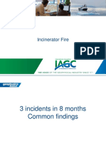 incinerator fire risk