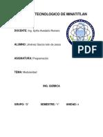 Unidad 4. Programación