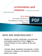 Macro Discrimination and Micro Resistance