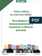 BELBIN.es - Como Utilizar Los Informes Individuales Belbin