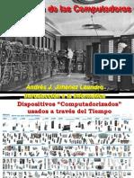 Evolución de Las Computadoras - Andrés J. Jiménez - 1C-2013 - Grupo Noche