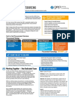 Procurement Outsourcing Brochure