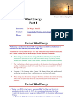 Wind Energy Part I