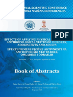 Beograd Book of Abstracts 2018