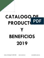 Nuevo Catalogo de Productos Horux Lab 2019