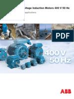 IEC Low Voltage Induction Motors 400V 50Hz