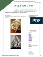 Tarjetas Pop-Up de Arquitectura Origámica por Kami Kaze